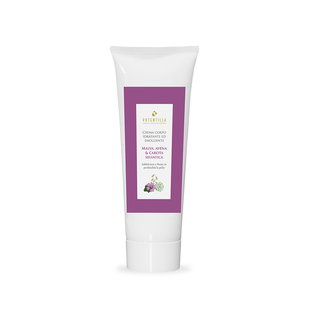 Nourishing and toning body cream