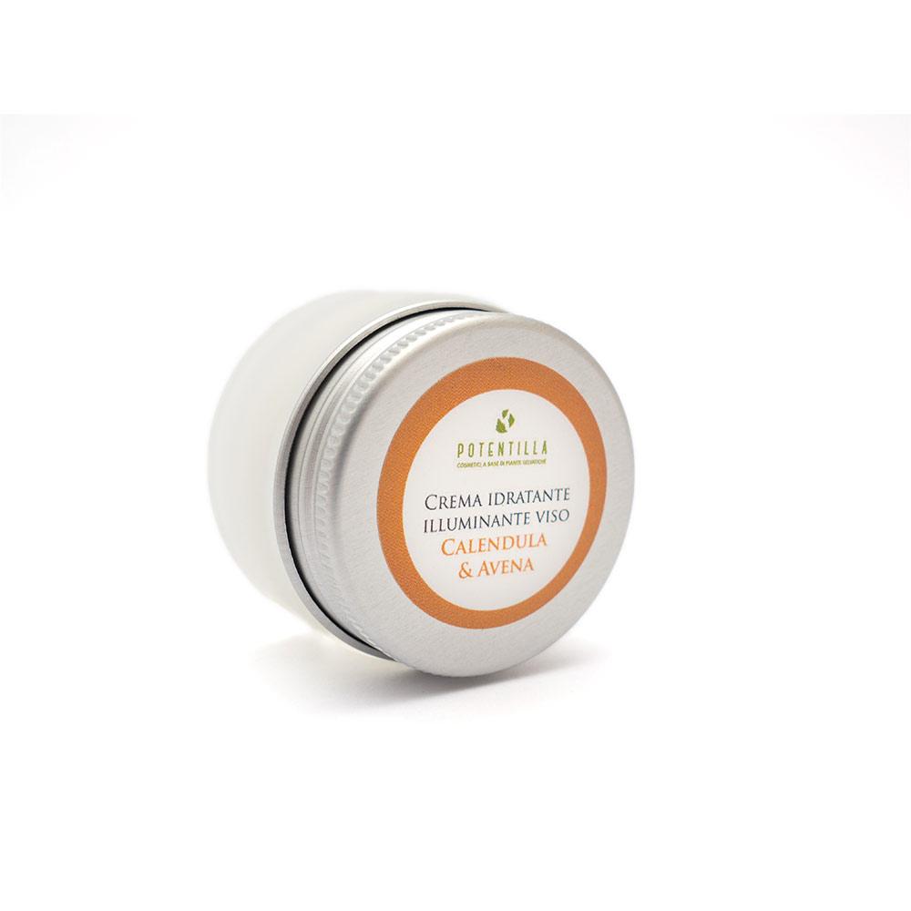 Crema viso idratante illuminante (15 ml)