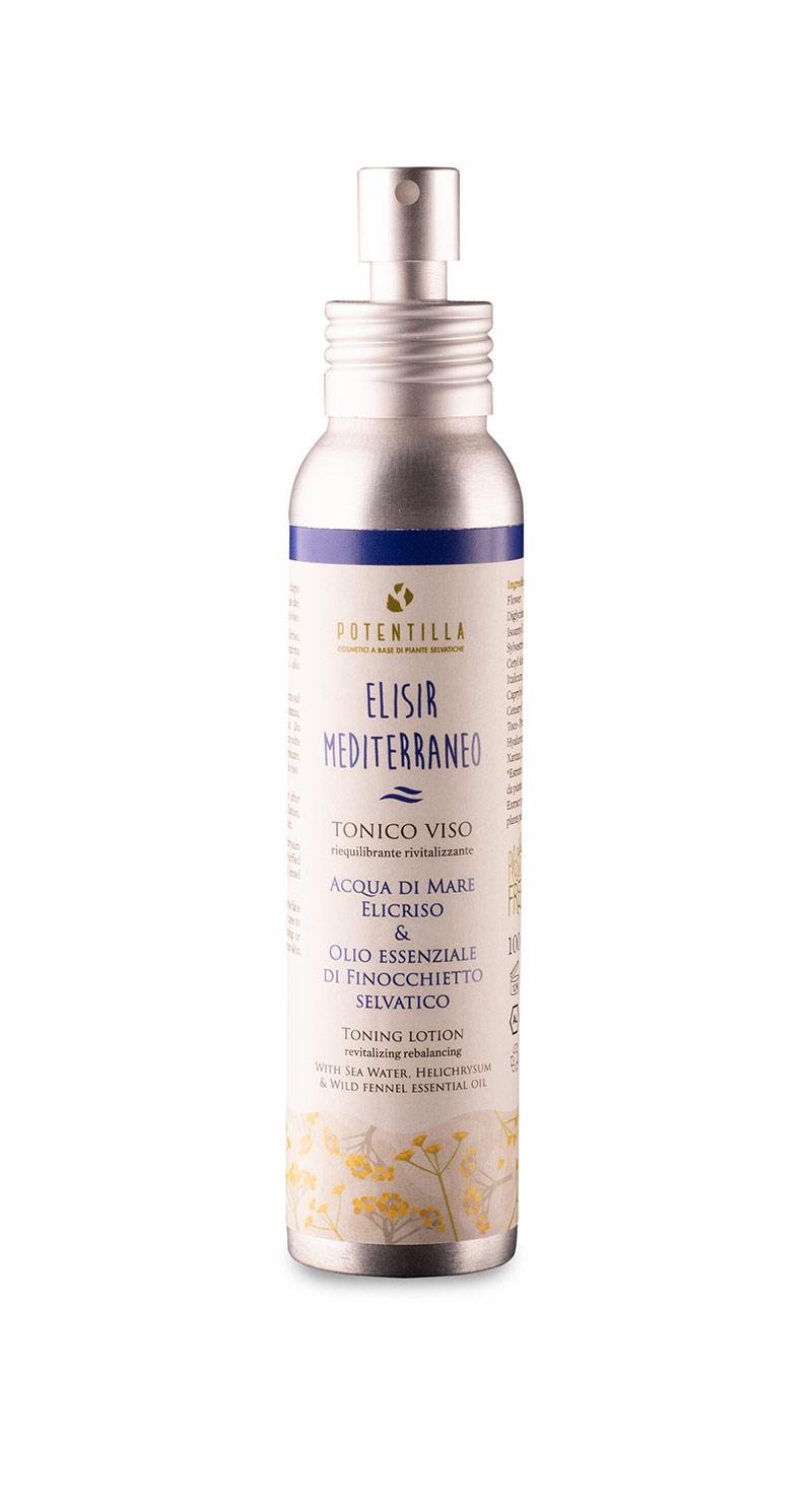 Spray-Tonico-home potentilla cosmetici a base di piante selvatiche