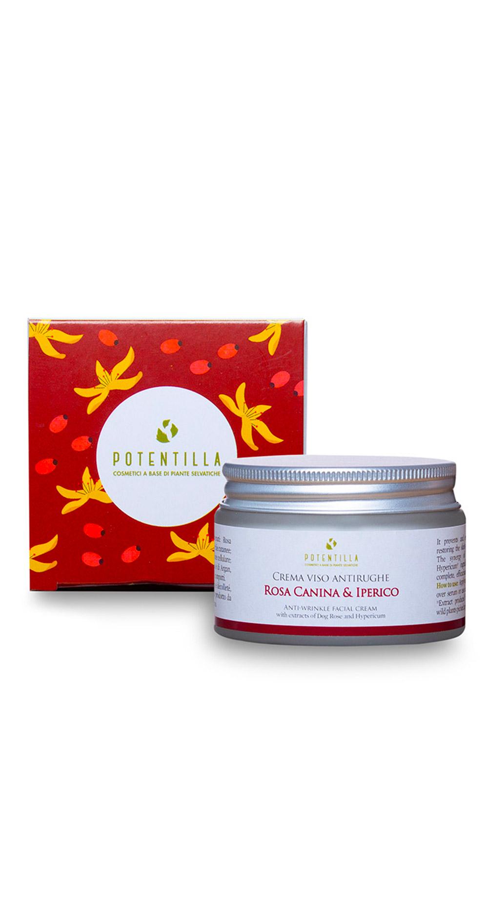 Cosmetici-a-base-di-piante-selvatiche-crema-viso-rosa-canina-e-iperico-plastic-free-new-home